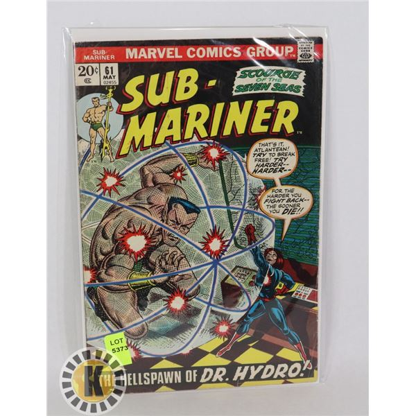 MARVEL COMICS SUB-MARINER #61 MAY