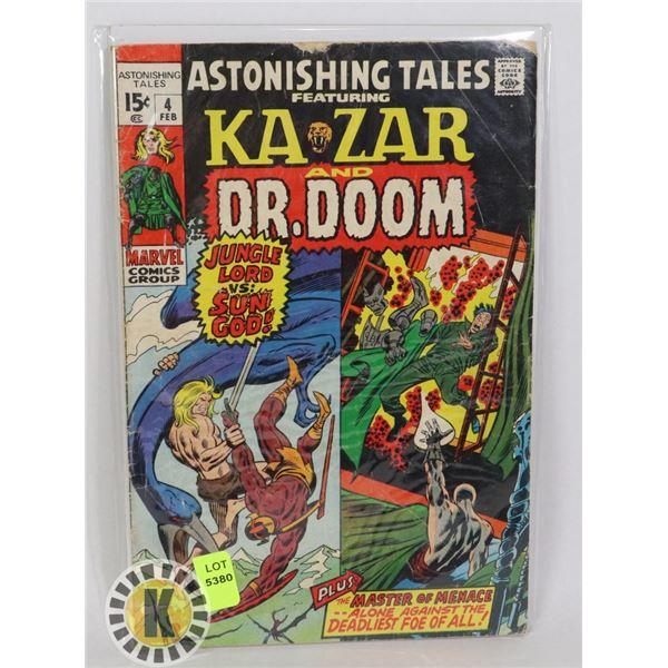 MARVEL COMICS KA-ZAR AND DR. DOOM  #4 FEB