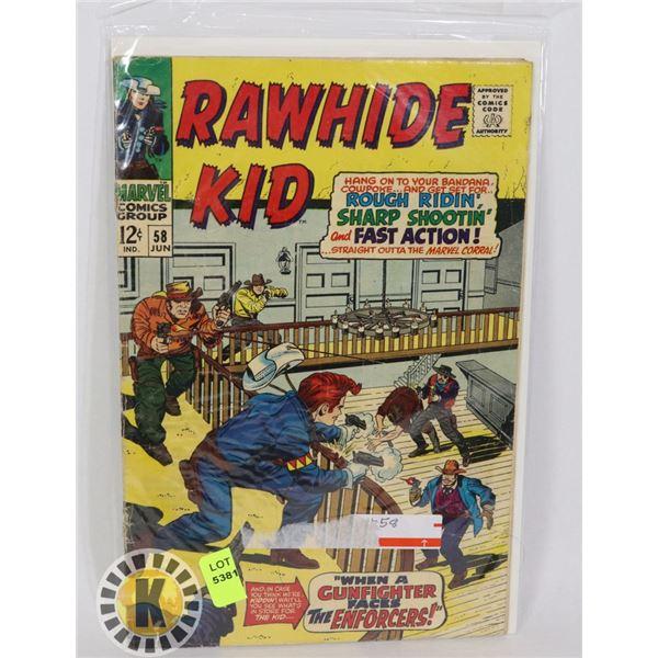 MARVEL COMICS RAWHIDE KID #58 JUN