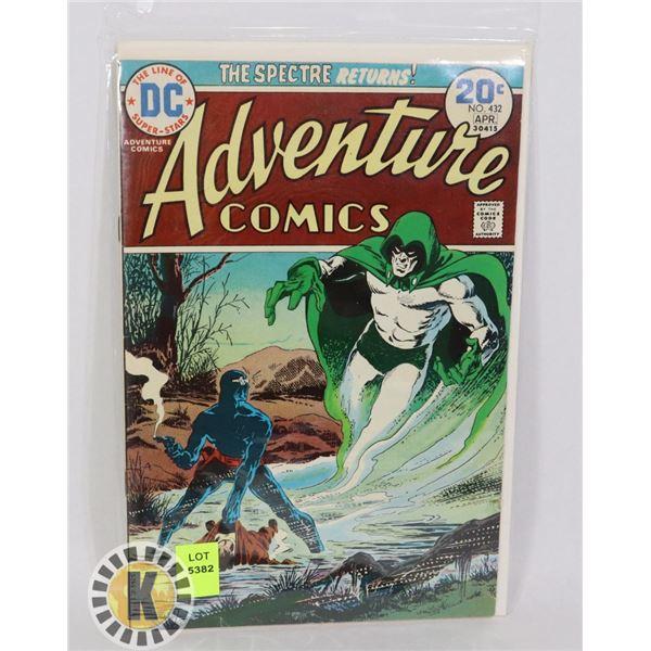"DC COMICS ""THE SPECTRE RETURNS"" #432 APR"