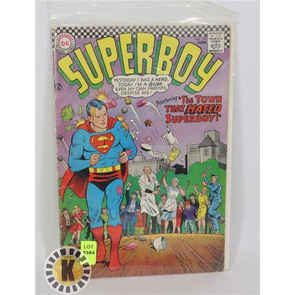DC COMICS SUPERBOY #139 JUNE