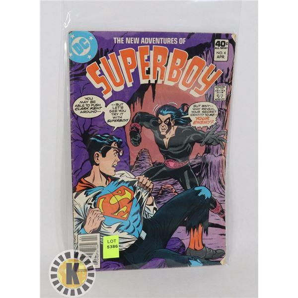 DC COMICS SUPERBOY #4 APR