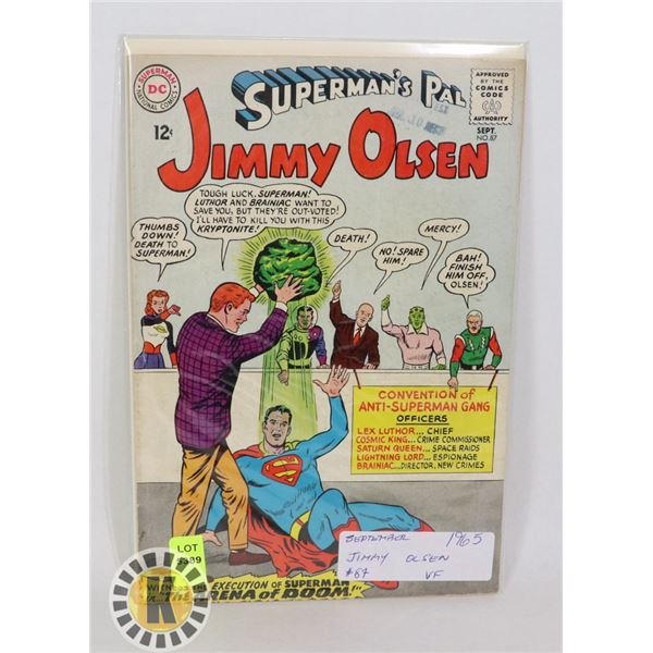 DC COMICS SUPERMAN'S PAL JIMMY OLSEN #87 SEPT