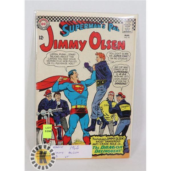 DC COMICS SUPERMAN'S PAL JIMMY OLSEN #91 ,AR