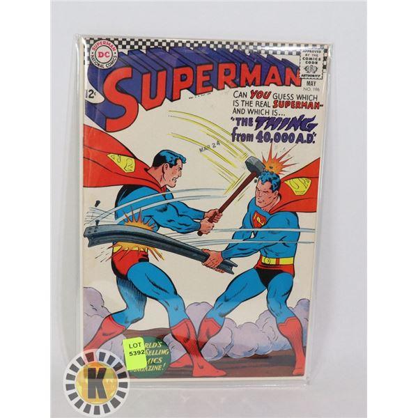 DC COMICS SUPERMAN #196 MAY