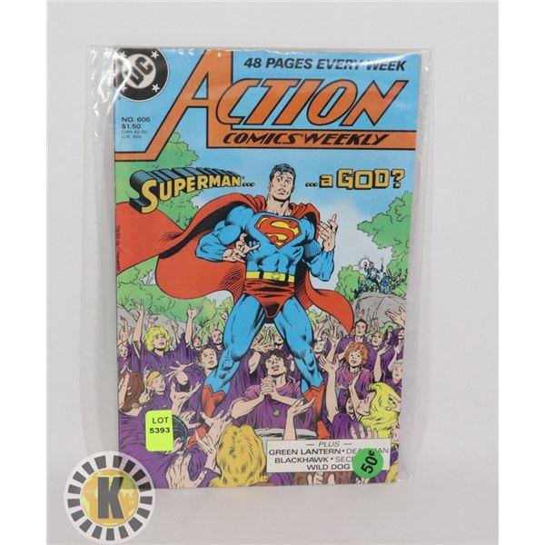 DC COMICS SUPERMAN A GOD? #606