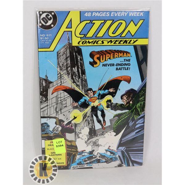 DC COMICS SPIDERMAN #611