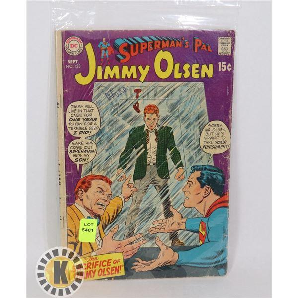 SUPERMAN'S PAL JIMMY OLSEN #123 SEPT