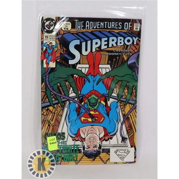 THE ADVENTURE OF SUPERBOY #19 AUG '91