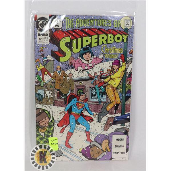 THE ADVENTURE OF SUPERBOY #12 JAN '91