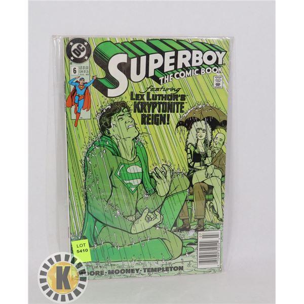 SUPERBOY THE COMIC BOOK #6 JUL '90