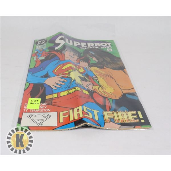 SUPERBOY THE COMIC BOOK #1 FEB '90