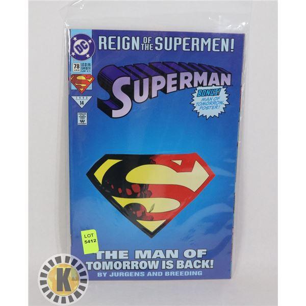 REIGN OF THE SUPERMEN #78 JUN 93