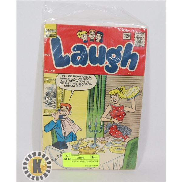 ARCHIE SERIES LAUGH COMIC BOOK