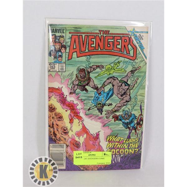 MARVEL 263 AVENGERS COMIC BOOK