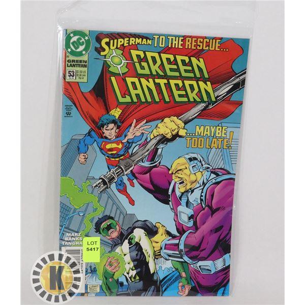 SUPERMAN TO THE RESCUE #53 JUL '94