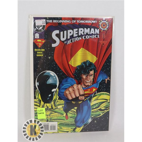 SUPERMAN IN ACTION COMICS #0 OCT '94