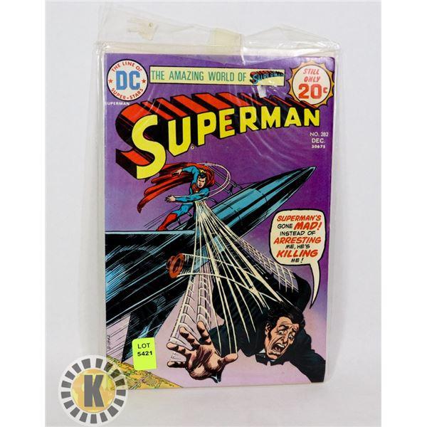 THE AMAZING WORLD OF SUPERMAN #282