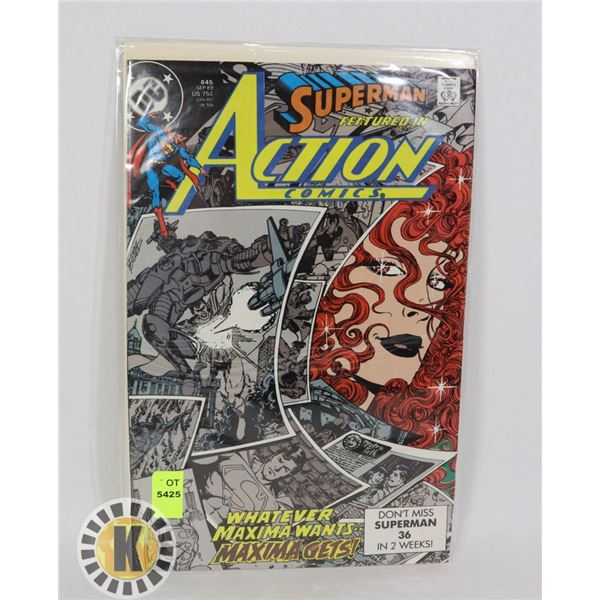 SUPERMAN ACTION COMICS #36