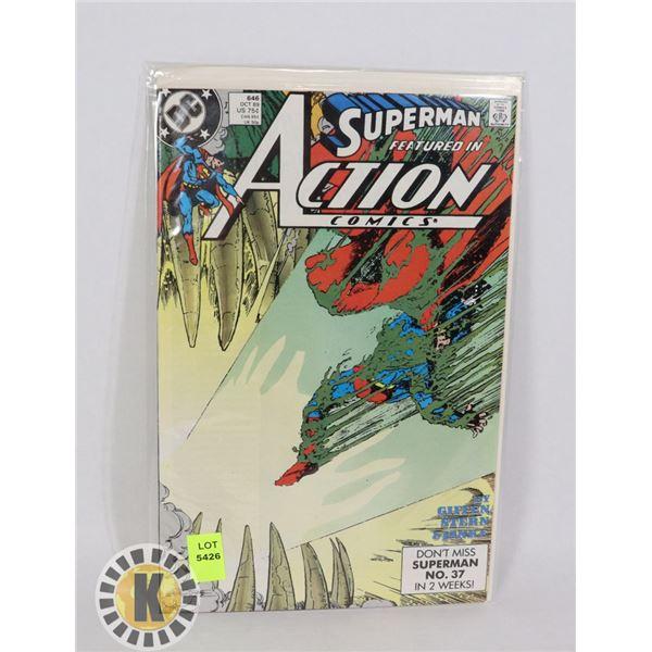 SUPERMAN ACTION COMICS #646