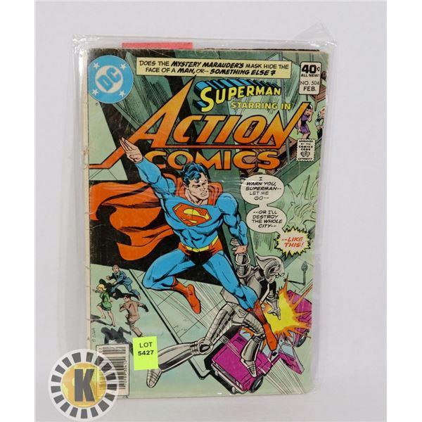 SUPERMAN ACTION COMICS #504