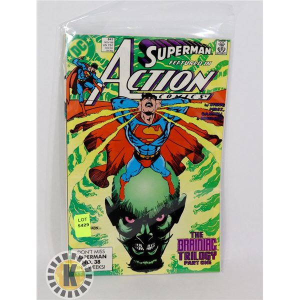 SUPERMAN ACTION COMICS #647
