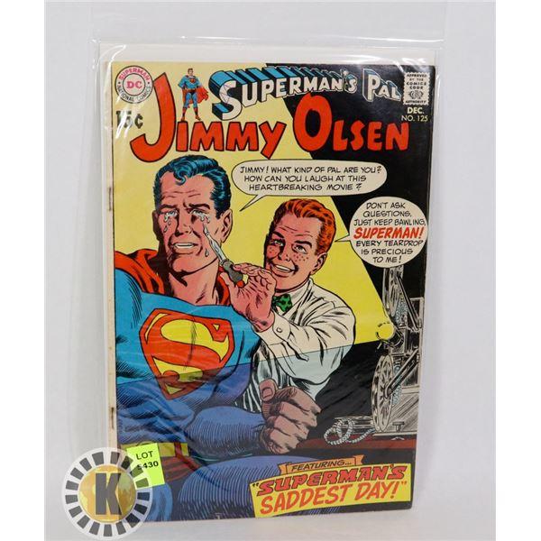 SUPERMAN'S PAL JIMMY OLSEN #125