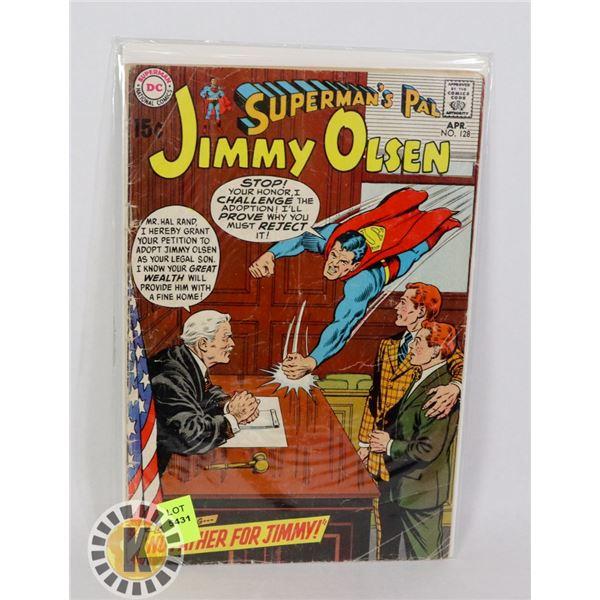 SUPERMAN'S PAL JIMMY OLSEN #128