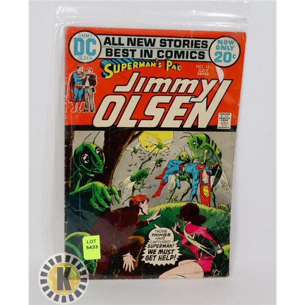 SUPERMAN'S PAL JIMMY OLSEN #151