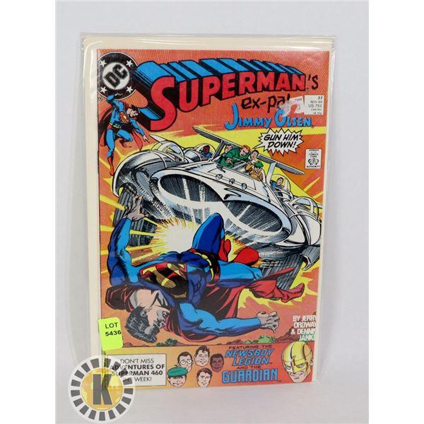 SUPERMAN'S PAL JIMMY OLSEN #37