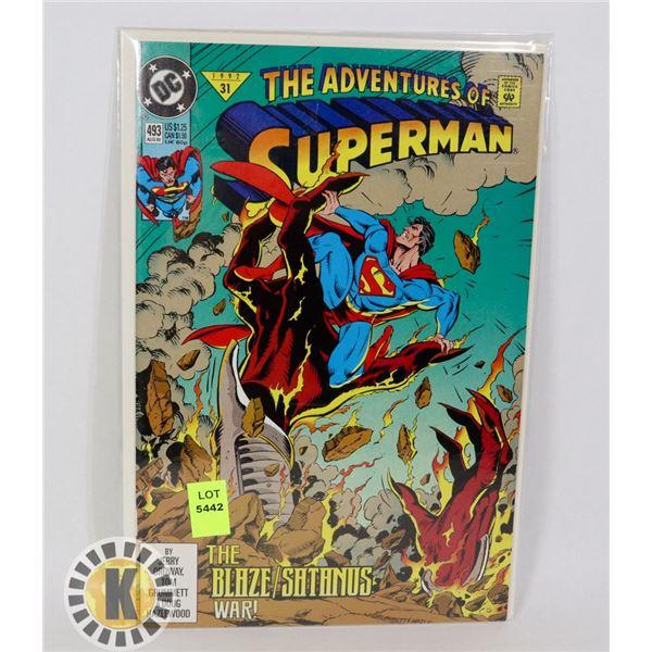 THE ADVENTURE OF SUPERMAN #493