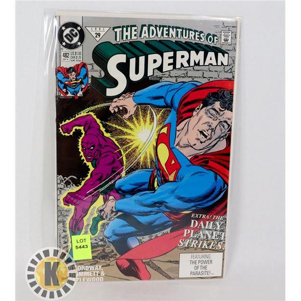 THE ADVENTURE OF SUPERMAN #482
