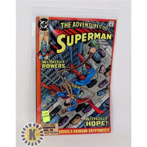THE ADVENTURE OF SUPERMAN #472
