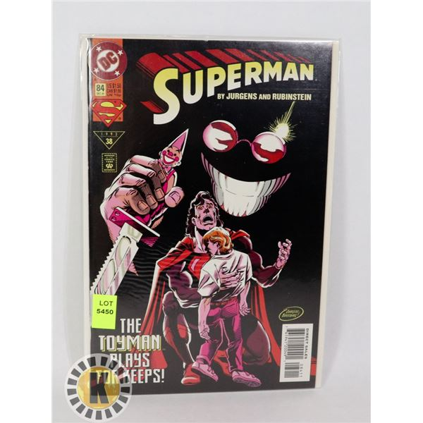 SUPERMAN #84 '93