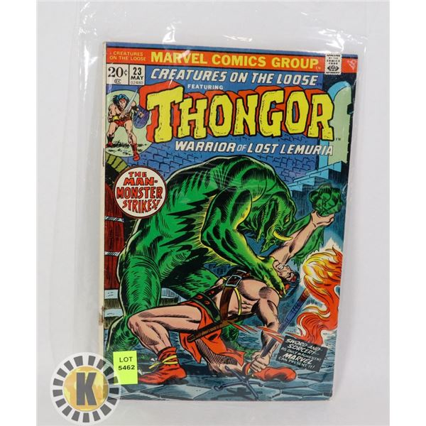"""CREATURES ON THE LOOSE """"THONGOR"""" #23"""