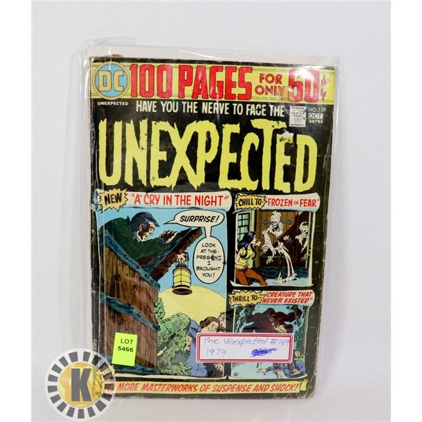 THE UNEXPECTED #159