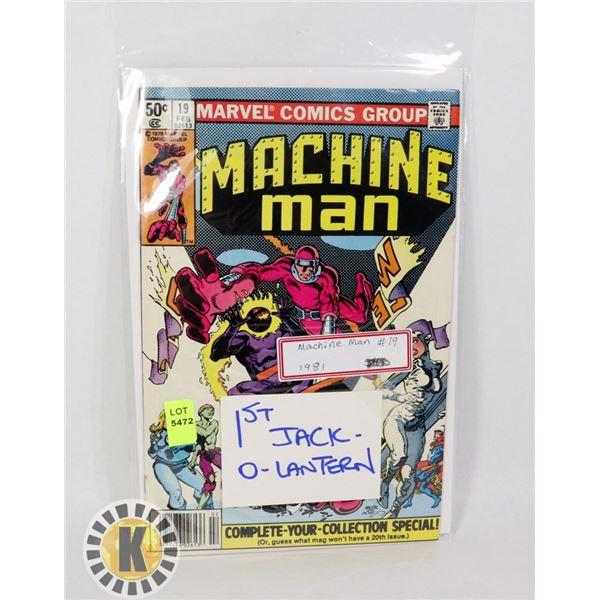 MACHINE MAN #19 (1981)