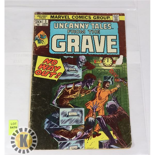 UNCANNY TALES FROM THE GRAVE #3
