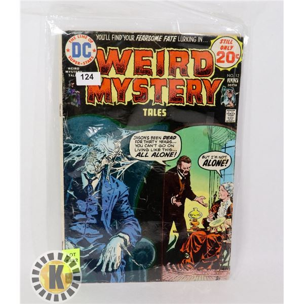 WEIRD MYSTERY TALES #12