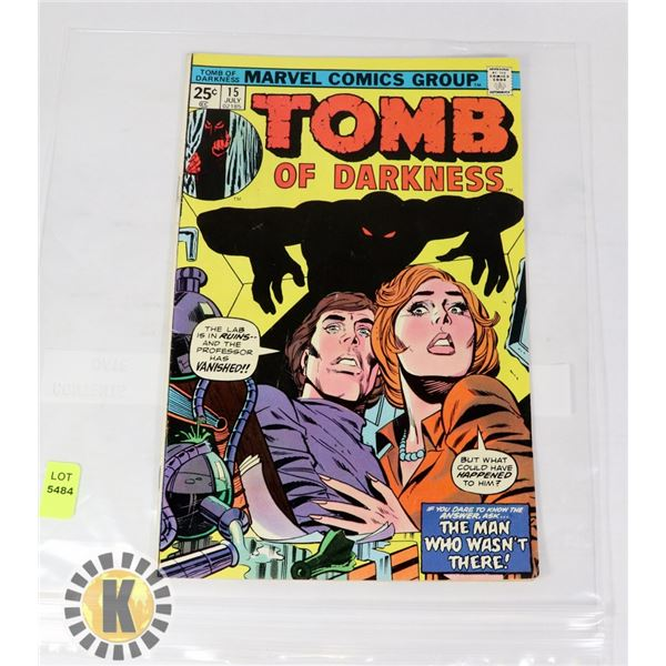 TOMB OF DARKNESS  #15