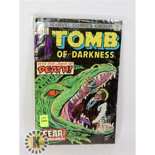 TOMB OF DARKNESS  #17