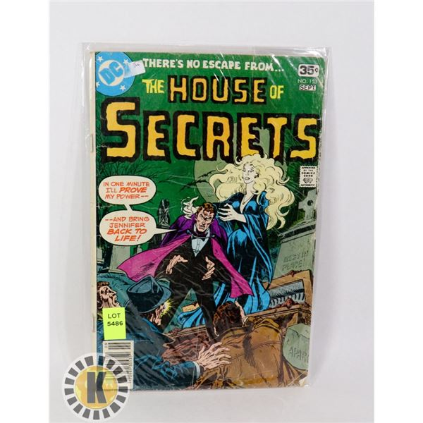 THE HOUSE OF SECRETS #153