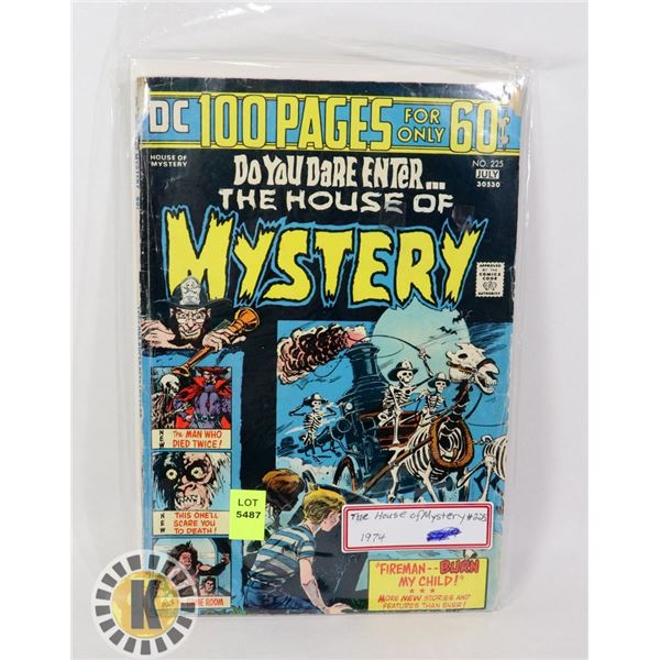 THE HOUSE OF MYSTERY #225