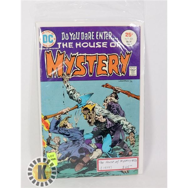 THE HOUSE OF MYSTERY #231