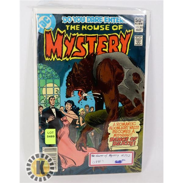 THE HOUSE OF MYSTERY #292