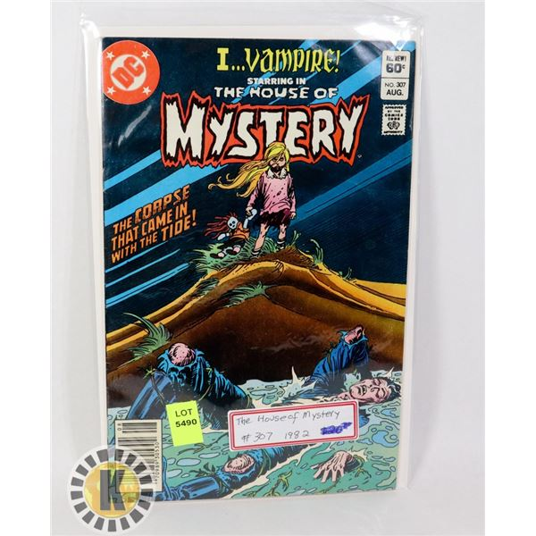 THE HOUSE OF MYSTERY #307