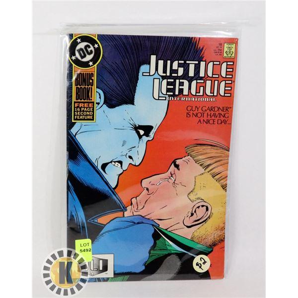 JUSTICE LEAGUE INTERNATIONAL #18