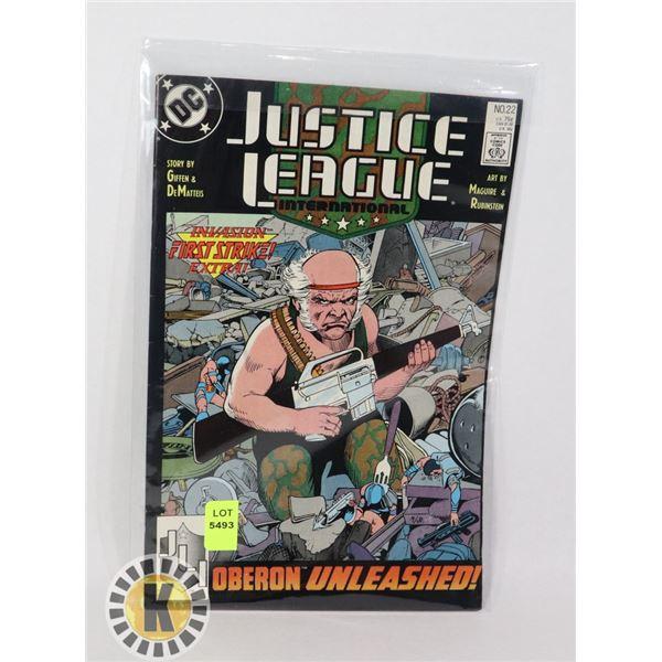 JUSTICE LEAGUE INTERNATIONAL #22