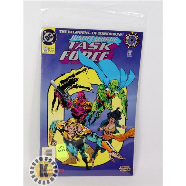 JUSTICE LEAGUE TASK FORCE #0