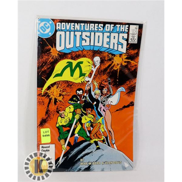 ADVENTURE OF THE OUTSIDERS #33